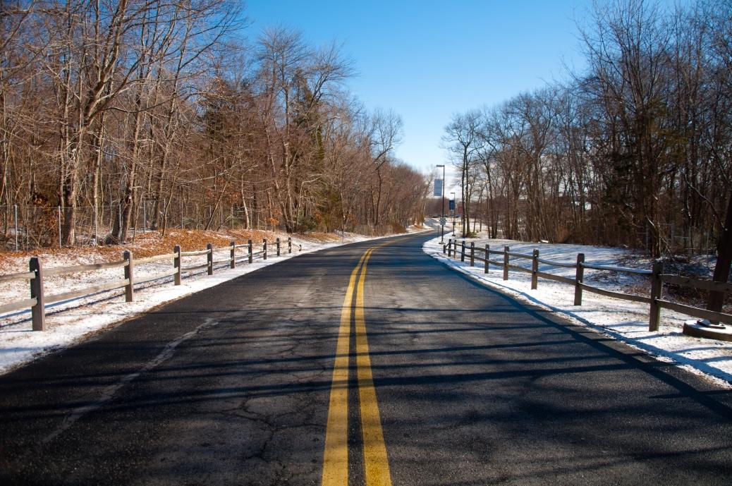 Winter Road by deadpoet88
